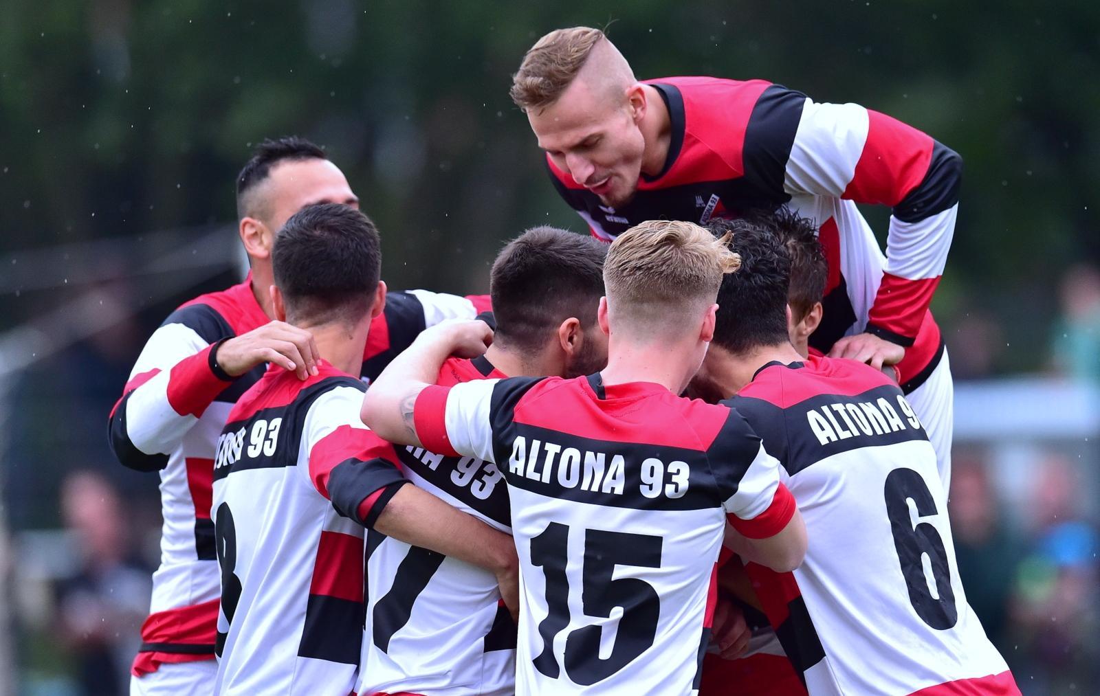 Lüneburger SK Hansa - Altona 93 - Erster Regionalliga-Dreier: AFC ...