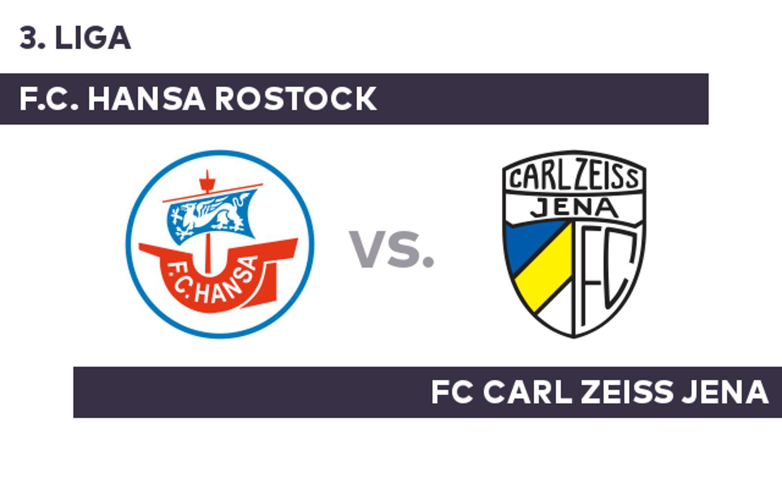 F.C. Hansa Rostock - FC Carl Zeiss Jena - Hansa Rostock ...