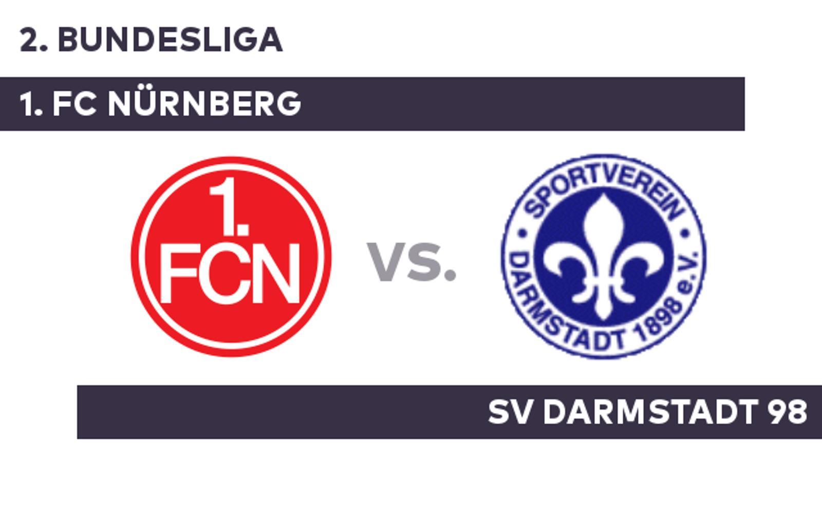 1 Fc Nürnberg Sv Darmstadt 98 Sv98 Gibt Visitenkarte